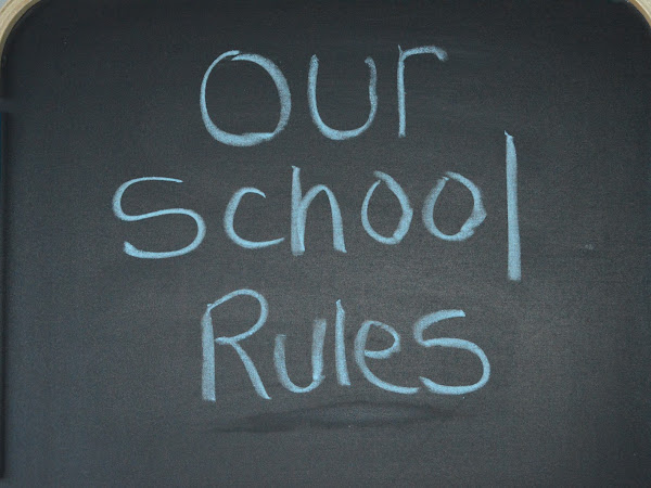 AD | Teaching Your Kids to Respect The School Rules