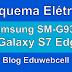 Esquema Elétrico Samsung Galaxy S7 Edge SM-G935F - Manual de Serviço