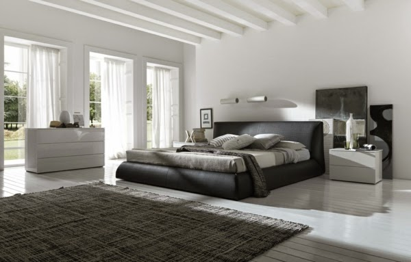 Gorgeous Gray And White Bedrooms: How To Design A Luxury Bedroom In Modern Style? +20