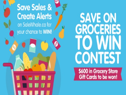 SaleWhale Save on Groceries to Win Contest