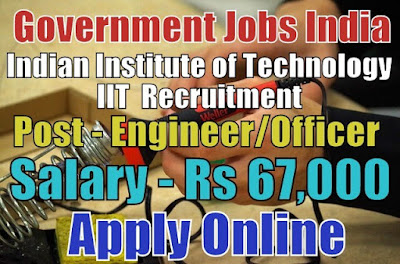 Indian Institute of Technology IIT Jammu Recruitment 2018