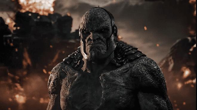 Darkseid en plena batalla