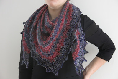 Thieves' Road Shawl by Littletheorem