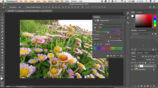2. Fitur Adjustment Layers di Photoshop