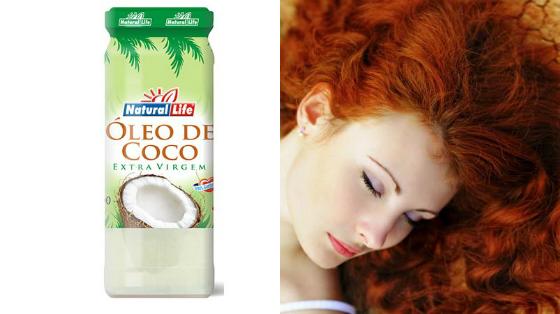 umectacao noturna com oleo de coco