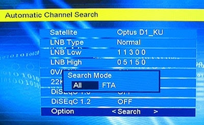 How to watch free to air TV channels by satellite frequency?