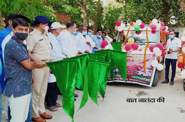 free ambulance service started in biharsharif