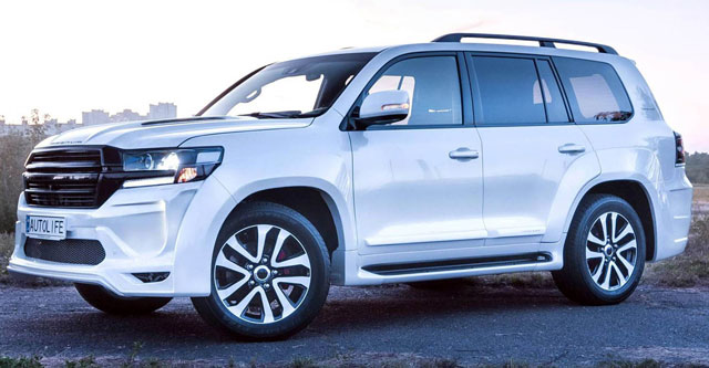 2020 Toyota Land Cruiser Luxury SUV | The timeless icon.