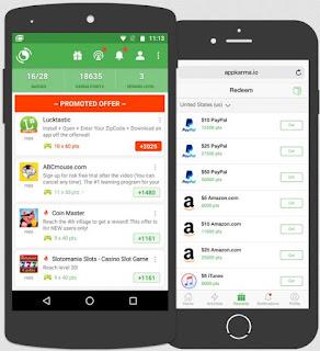 Aplikasi Penghasil Uang Karma App