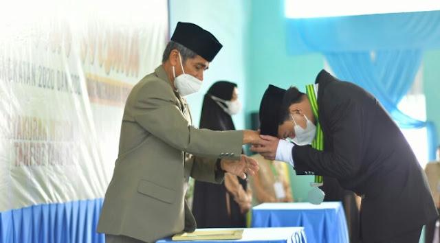 Pimpinan Ponpes Darul Istiqamah Puce'e Puji Program Tahfidz Bupati ASA