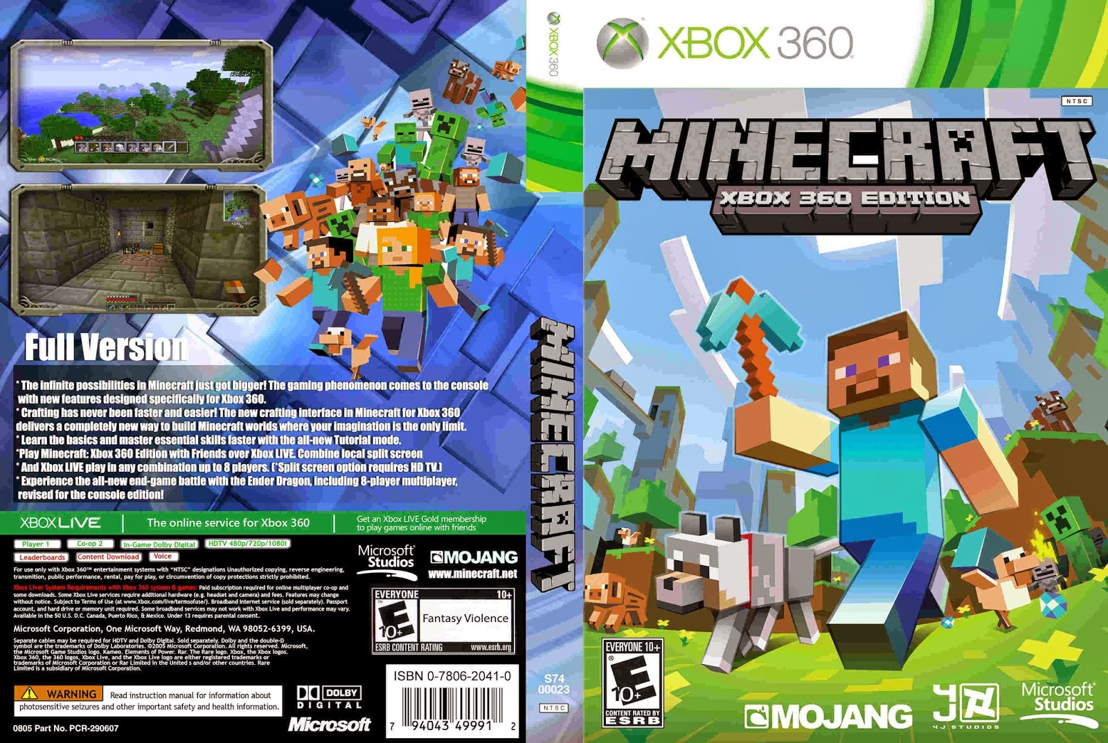 World Of Covers 01: Minecraft