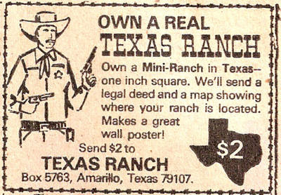 Own a Real Texas Ranch