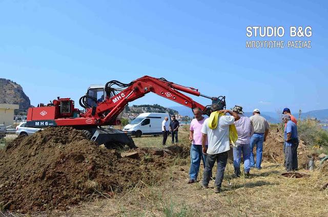 ΔΕΥΑ Ναυπλίου: Η βλάβη στον κεντρικό αγωγό ύδρευσης αποκαταστάθηκε