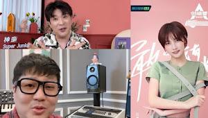 Zhao Yue Dapat Dukungan dari Super Junior di Final CHUANG 2020