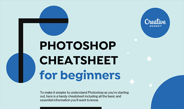 Beginner's Guide to Photoshop: One-Stop Cheatsheet