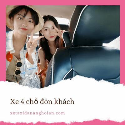 xe 4 cho don san bay da nang
