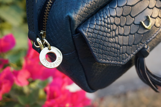 Hidesign Midnight Blue Ellie Mini Bag