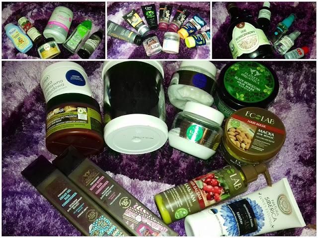 Aktualna kolekcja moich kosmetyków