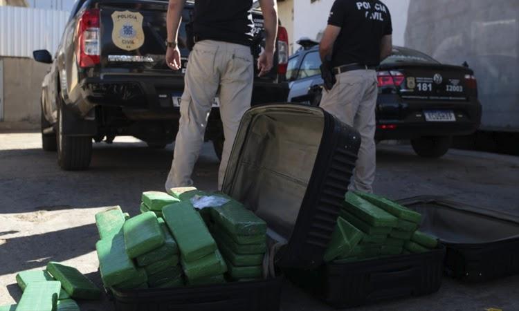 Mais de 100 quilos de maconha são incinerados em Brumado