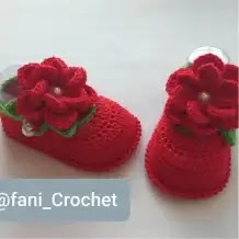 Zapatitos Susii a Crochet