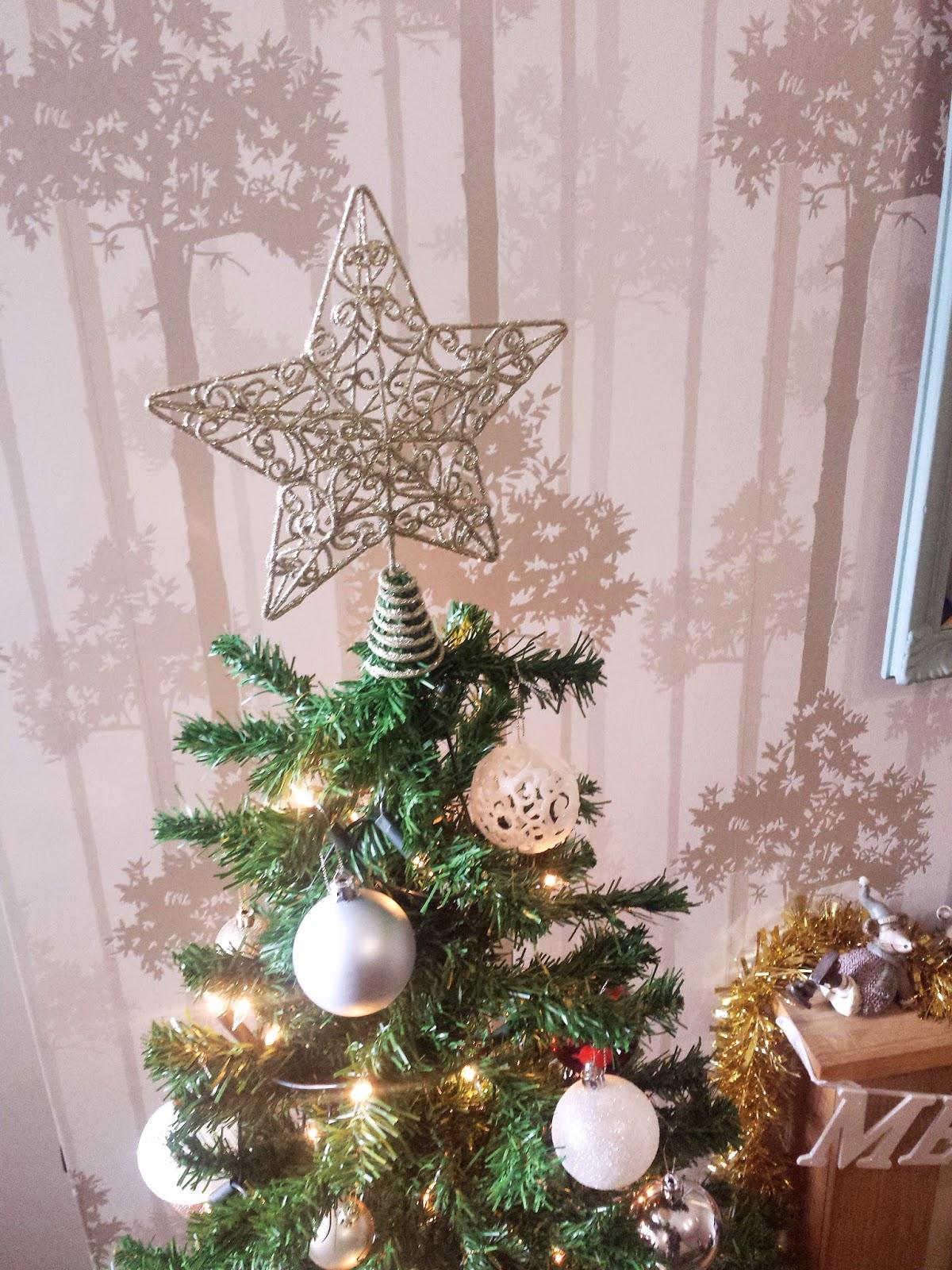 Gold Star Tree Topper Debenhams