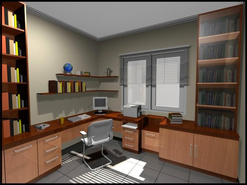 Desain Ruang Kerja Rumah Yang Nyaman