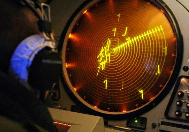 Uçak radari garip bir noktayı gösteriyordu ama bu npktanın ne olduğu anlaşılmıyordu.