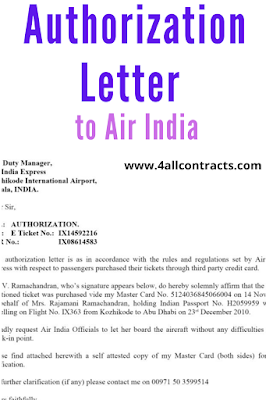 Authorization Letter to Air India - doc