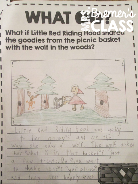 Fairy Tales unit featuring Little Red Riding Hood, Cinderella, The Three Pigs, Goldilocks and the Three Bears, The Frog Prince, and Jack and the Beanstalk. Packed with lots of fun literacy ideas and guided reading activities. Common Core aligned. Grades 1-3. #fairytales #literacy #guidedreading #1stgrade #2ndgrade #3rdgrade