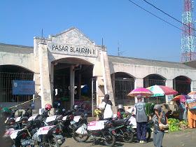 Bangunan pasar Blauran Salatiga