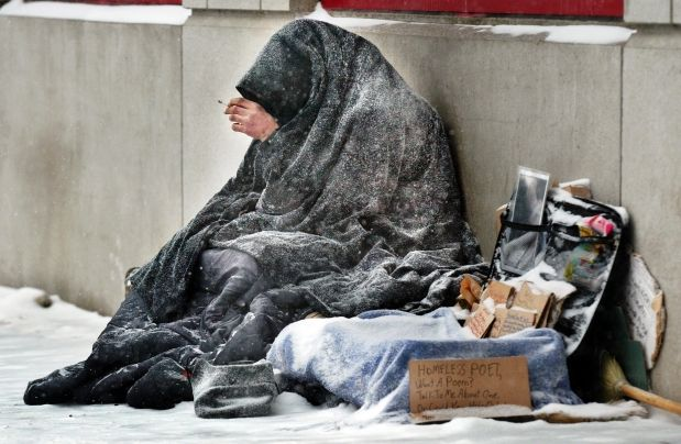freezing mother with infant, jobless, no                     welfare in USA any more