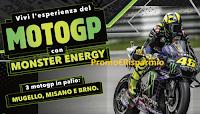 Logo ''Vai al Moto GP con Monster'': vinci il Mugello, Misano e Brno