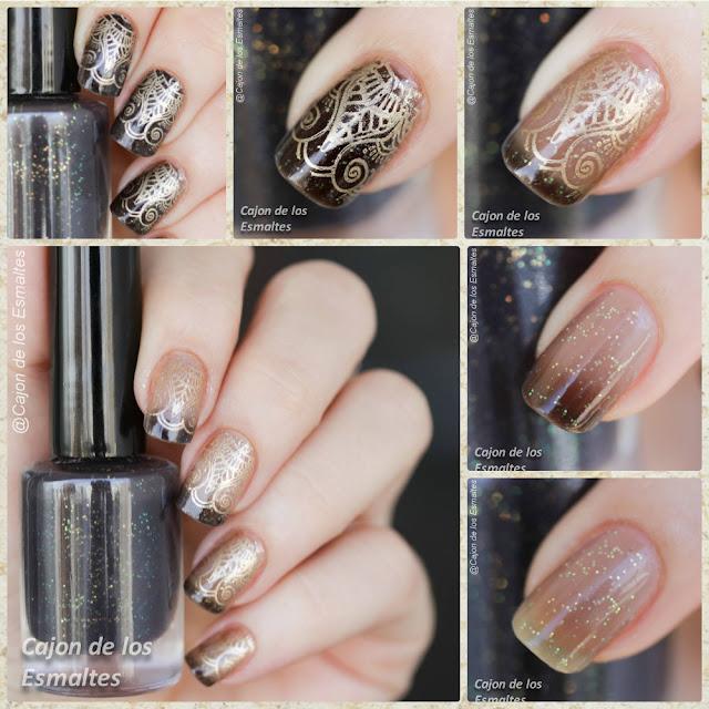 Esmaltes de uñas térmico
