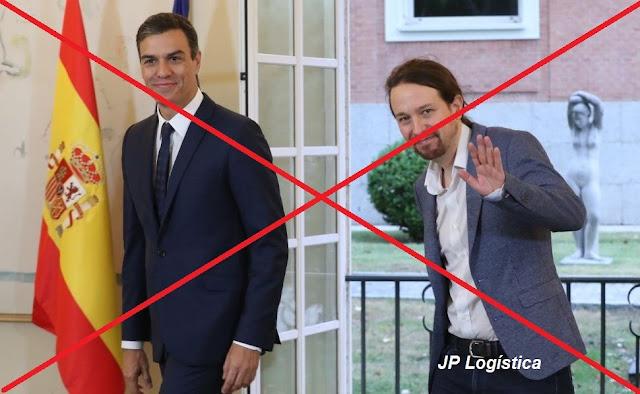 Pedro Sánchez, una marioneta en manos de Pablo Iglesias. Paga el pueblo