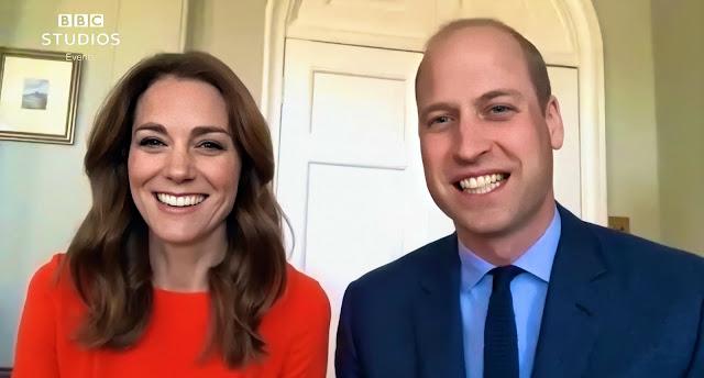 Kate i William przeprowadzili rozmowę online z weteranami II wojny światowej