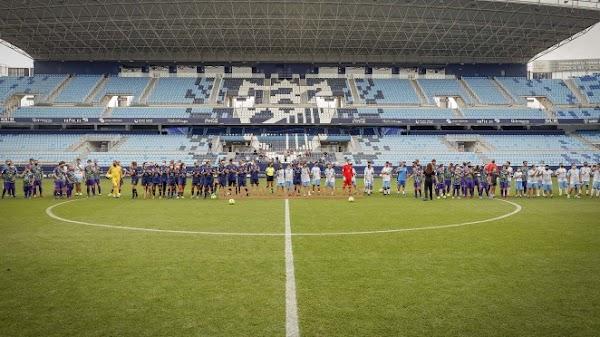 El Málaga Genuine cumple su sueño: juega en la Rosaleda