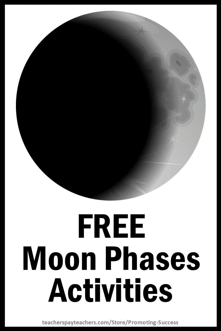 medium resolution of Promoting Success: Moon Phases Teaching Activities for Kids in 4th