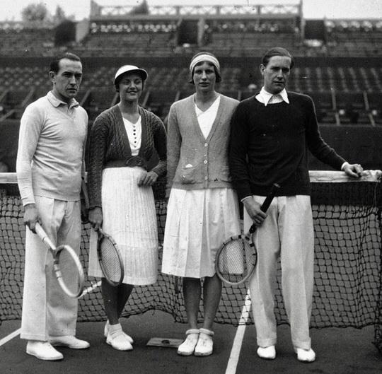 1930 tennis fashion