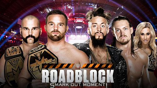 WWE Roadblock 2016 NXT Tag Title Match predictions