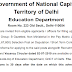 12 posts of Law Officer in Government of National Capital Territory of Delhi Education Department - last date 11/08/2019
