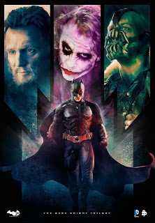 Trilogia – O Cavaleiro das Trevas - Poster