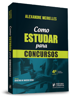 Livro como estudar para concursos - Alexandre Meirelles