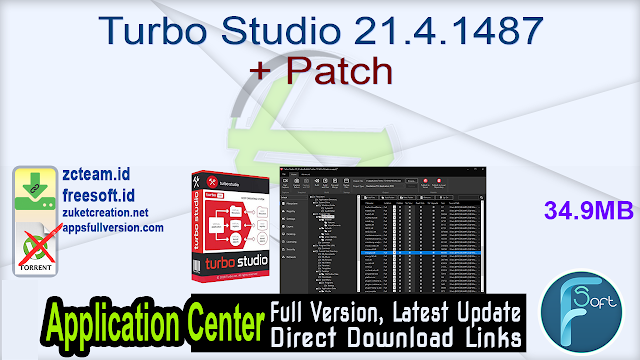 Turbo Studio 21.4.1487 + Patch_ ZcTeam.id