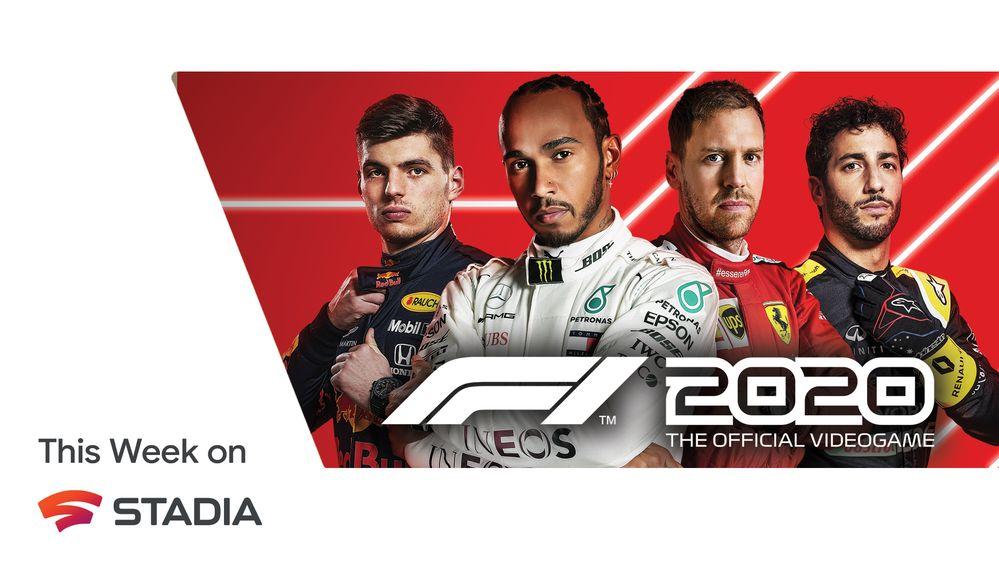 F1 2020 e altre novità disponibili in Google Stadia