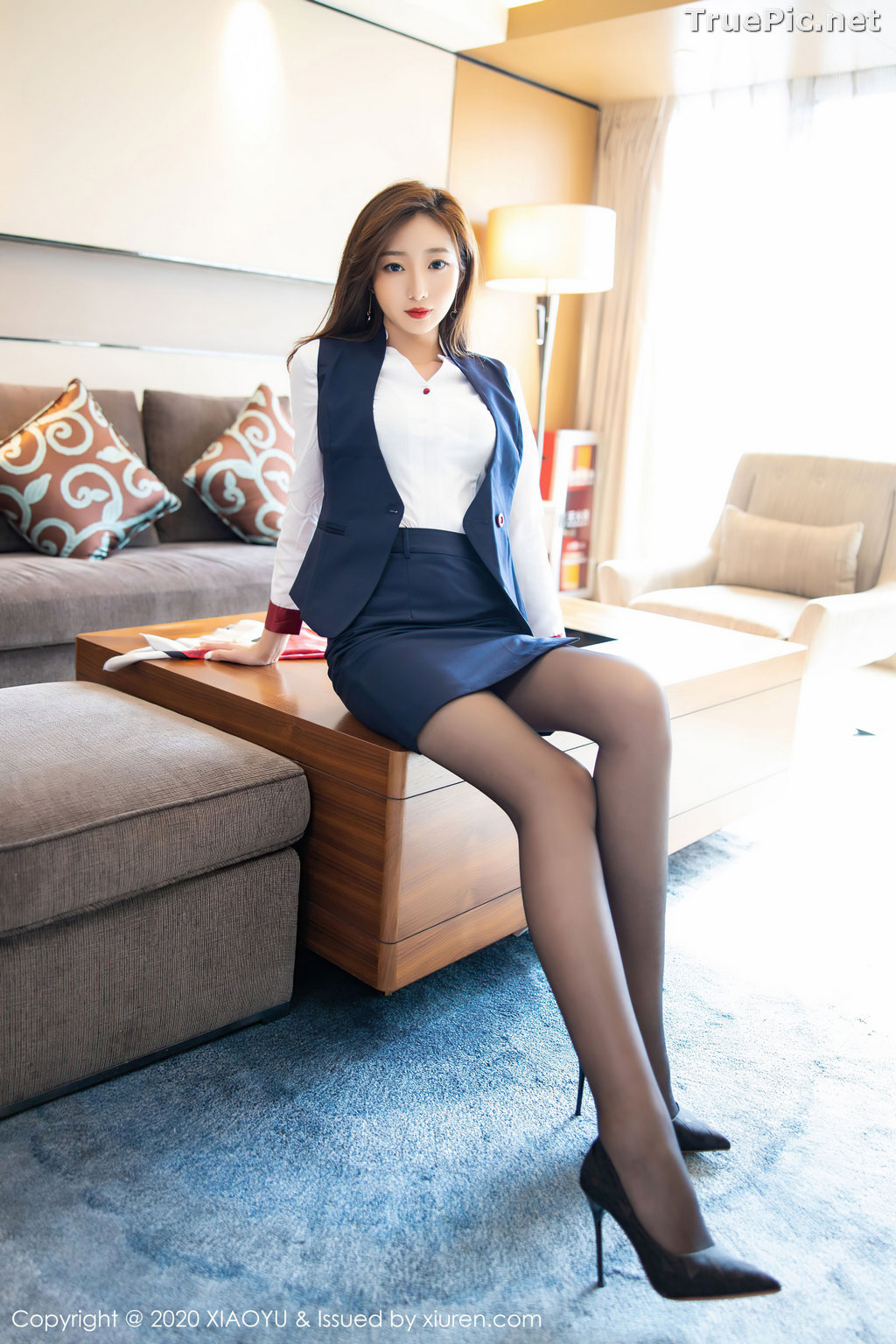 Image XiaoYu Vol.370 - Chinese Model - 安琪Yee - Affter Working Day - TruePic.net - Picture-7