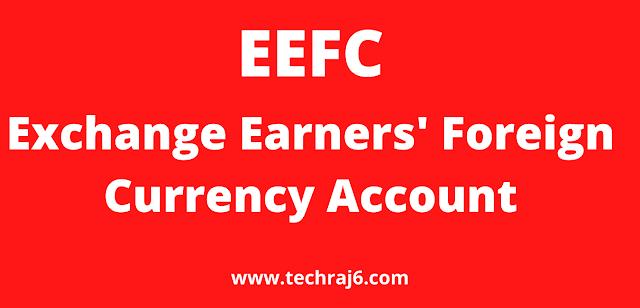EEFC full form, What is the full form of EEFC