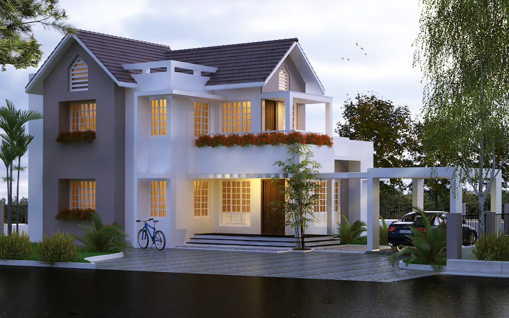 35 lakhs cost Below 1950 sq ft 3 bed room residence
