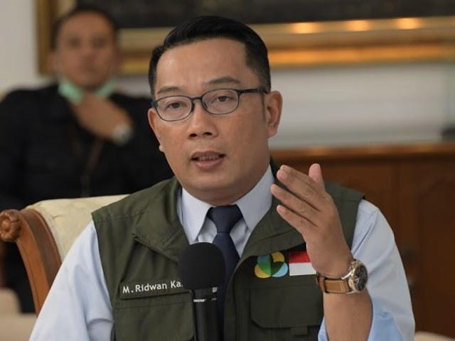 Ridwan Kamil Ungkap 4 Kluster Penyebaran Covid-19 di Jawa Barat