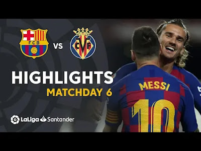 Barcelona vs Villarreal 2-1 All Goals And Match Highlights [MP4 & HD VIDEO]