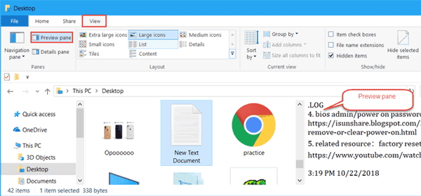 Showing-file-preview-in-windows-preview-pane-Cool Computer Tips